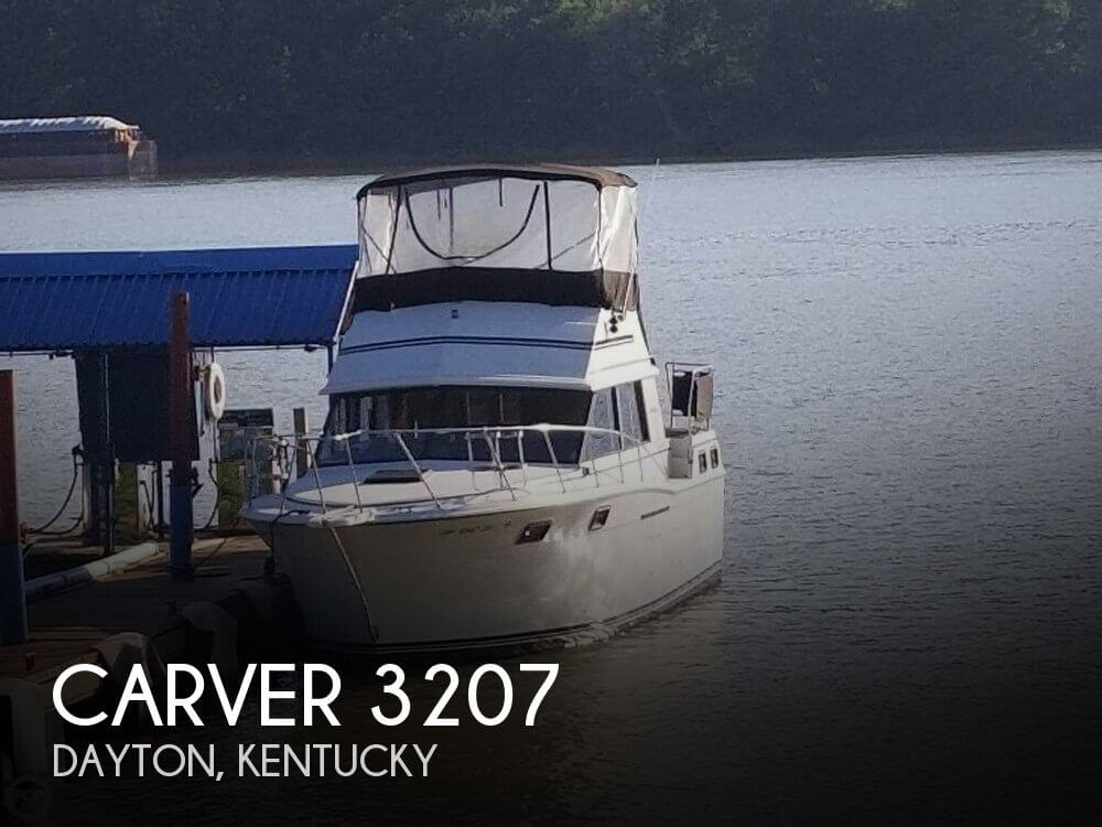 Used Carver 32 Boats For Sale by owner   1983 Carver 32
