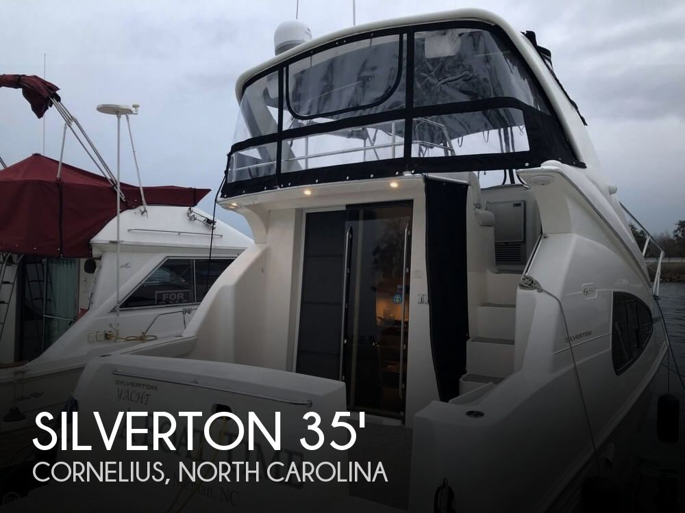 Used Boats For Sale in Greensboro, North Carolina by owner | 2005 Silverton 35