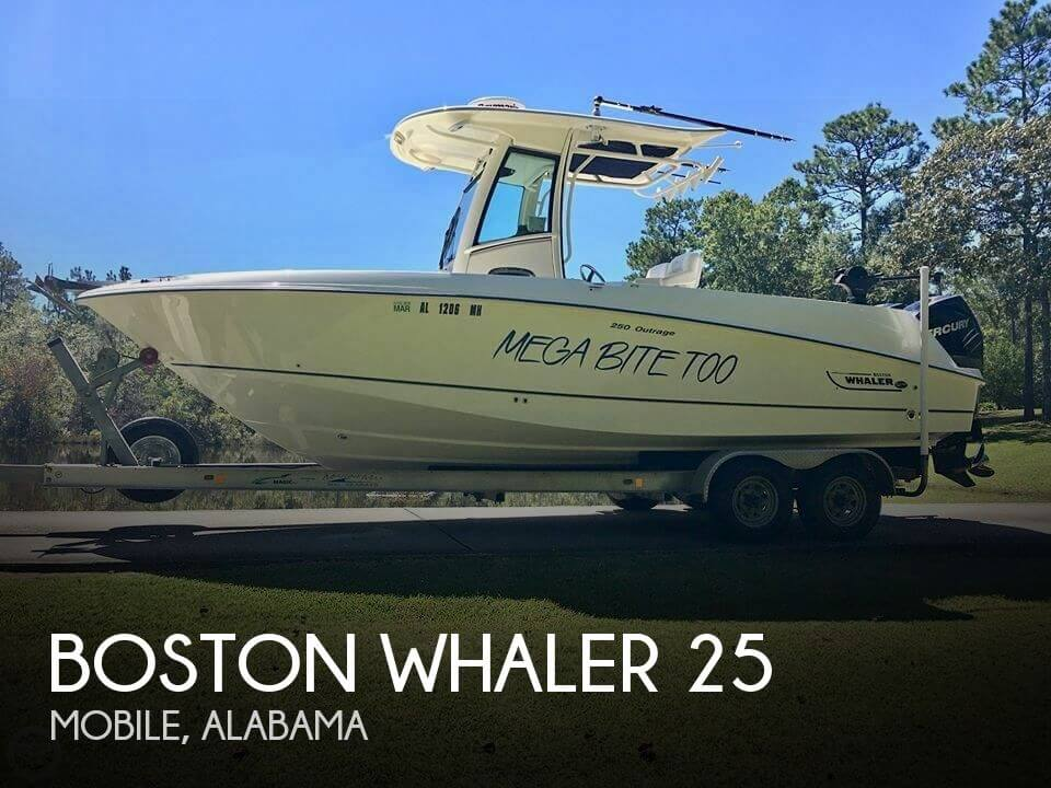 Used Boats For Sale in Pensacola, Florida by owner | 2012 Boston Whaler 25