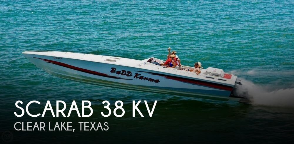 Used Scarab Boats For Sale by owner | 1988 Scarab 38 KV