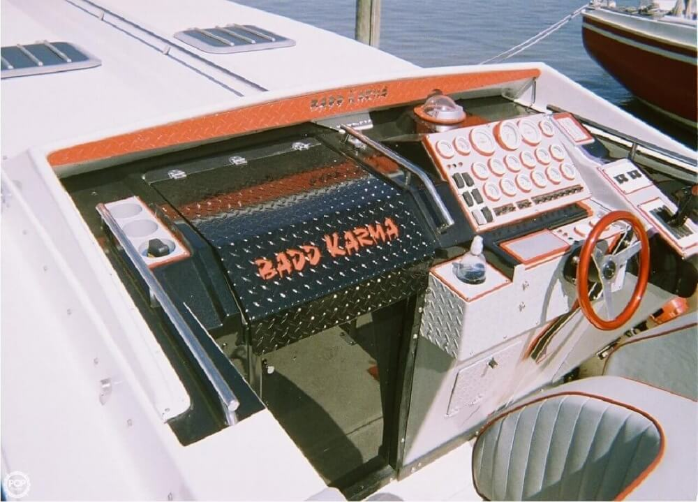 1988 Scarab boat for sale, model of the boat is 38 KV & Image # 4 of 40