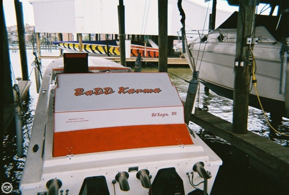 1988 Scarab boat for sale, model of the boat is 38 KV & Image # 9 of 40