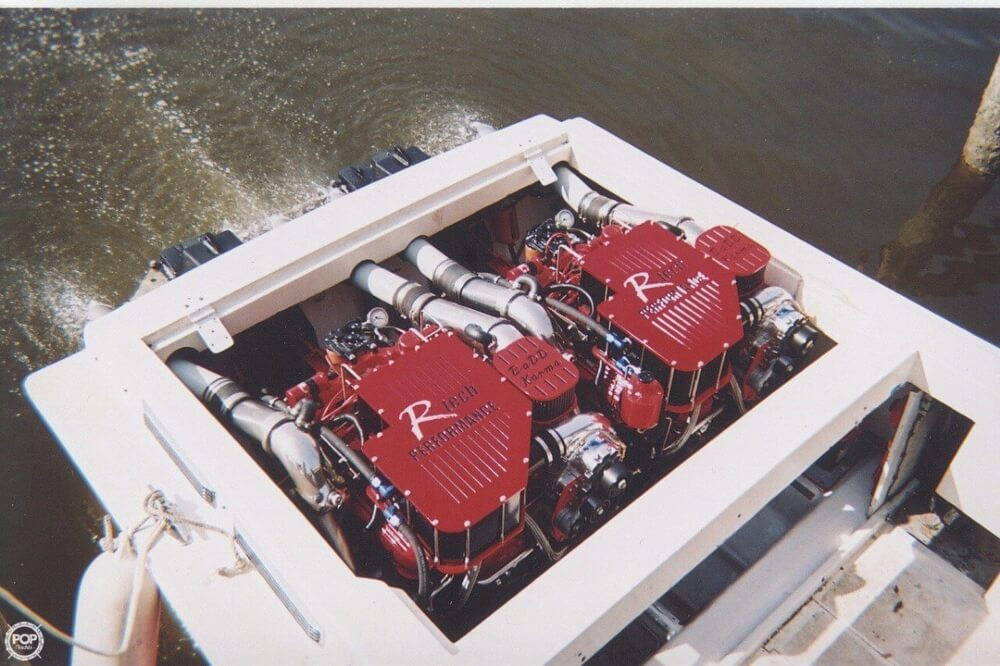1988 Scarab boat for sale, model of the boat is 38 KV & Image # 3 of 40