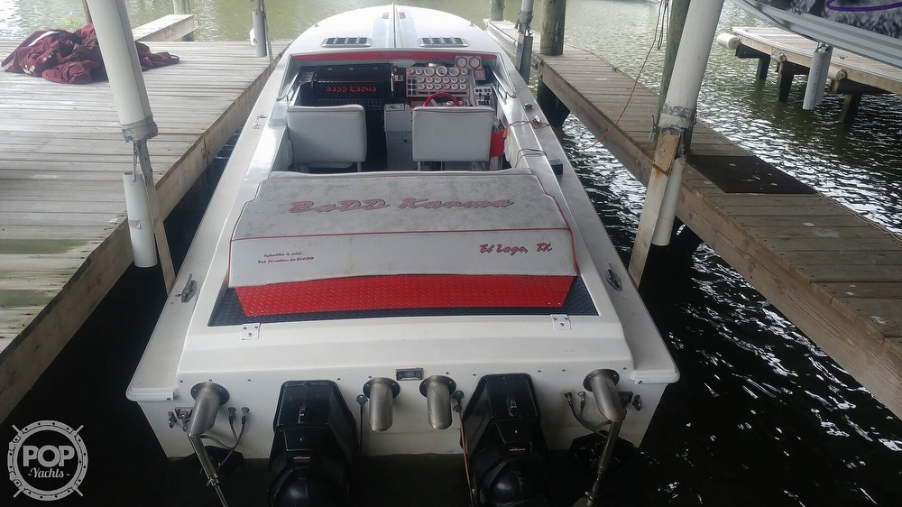 1988 Scarab boat for sale, model of the boat is 38 KV & Image # 16 of 40