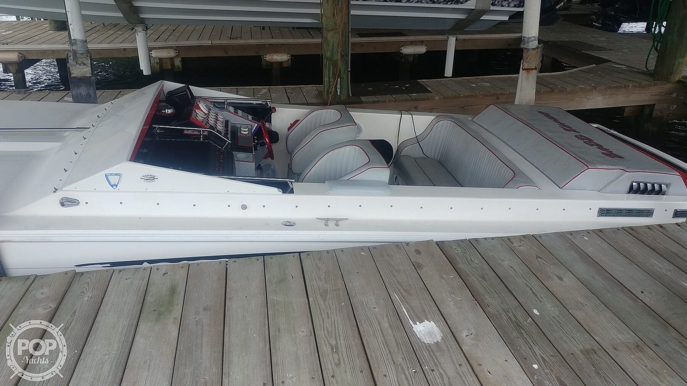 1988 Scarab boat for sale, model of the boat is 38 KV & Image # 17 of 40
