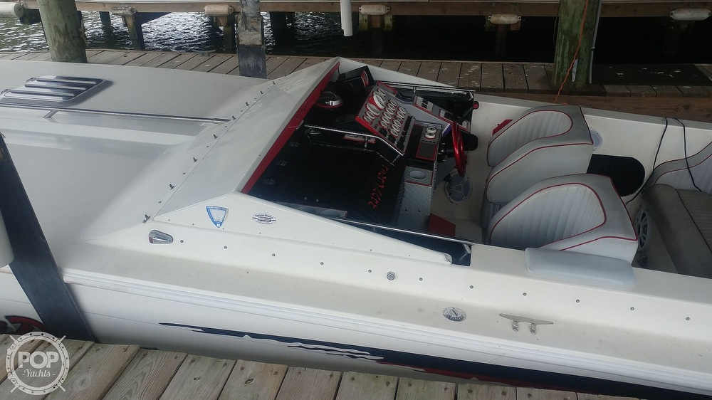 1988 Scarab boat for sale, model of the boat is 38 KV & Image # 18 of 40