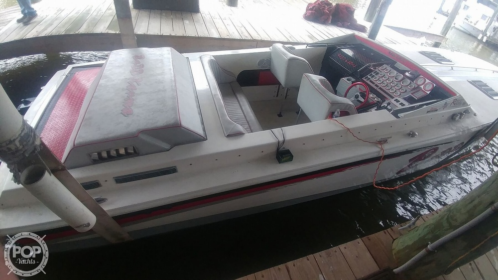 1988 Scarab boat for sale, model of the boat is 38 KV & Image # 26 of 40
