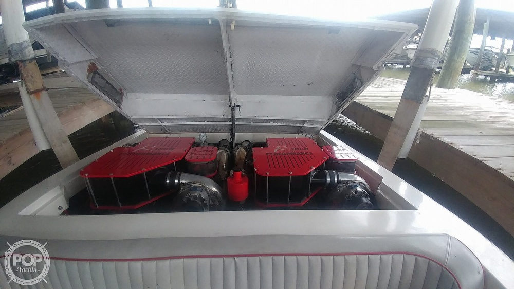 1988 Scarab boat for sale, model of the boat is 38 KV & Image # 33 of 40