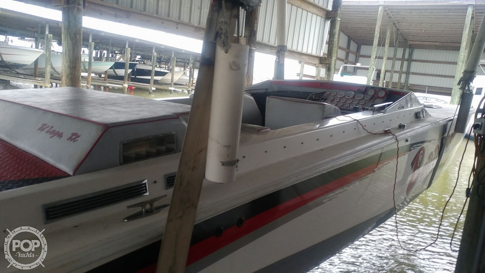 1988 Scarab boat for sale, model of the boat is 38 KV & Image # 6 of 40