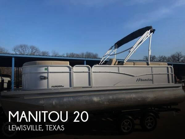 Used Pontoon Boats For Sale in Texas by owner | 2017 Manitou 20