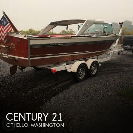Used Boats For Sale in Kennewick, Washington by owner | 1966 Century 21
