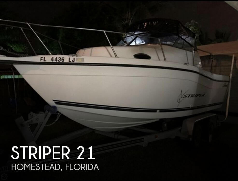 Used Striper Boats For Sale by owner | 2000 Striper 21