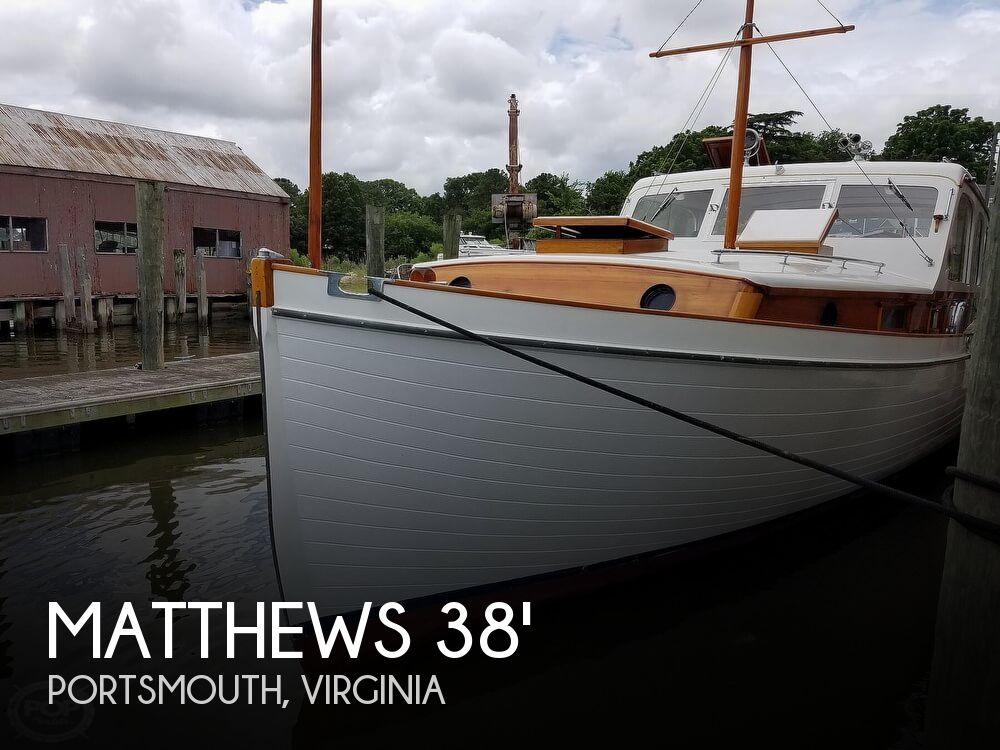 1941 MATTHEWS 38 CABIN CRUISER for sale