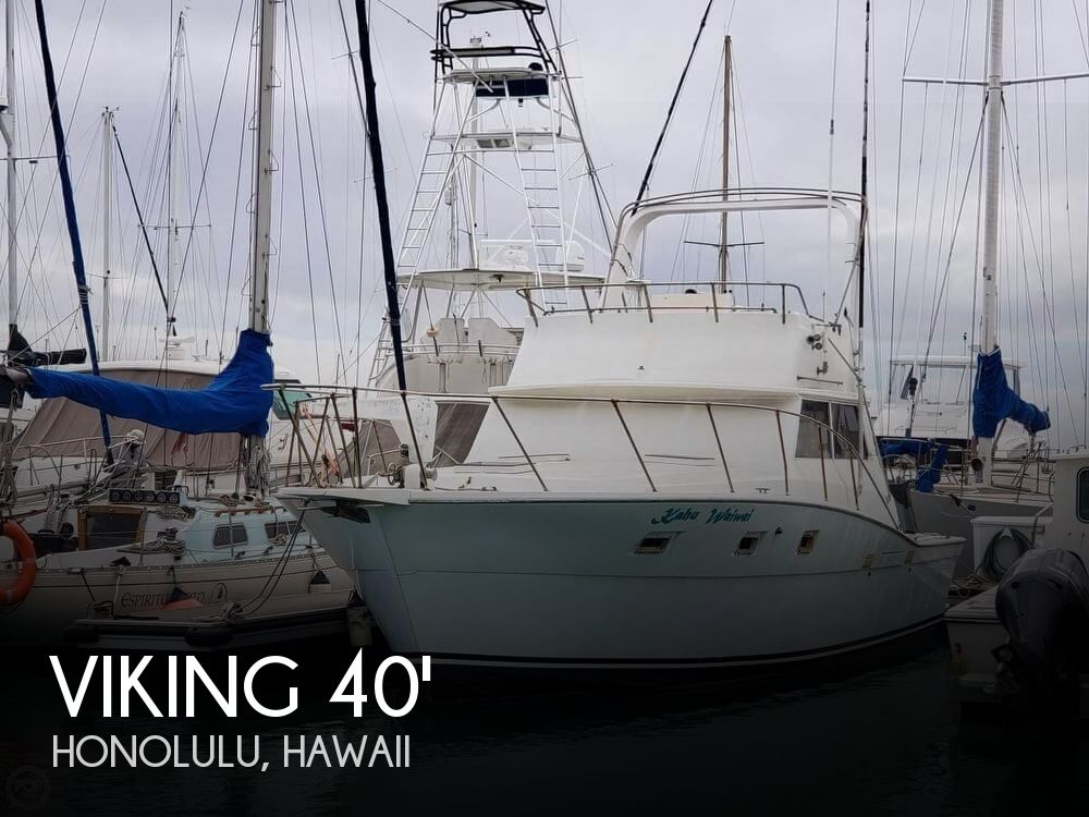 Used Boats For Sale in Hawaii by owner | 1981 Viking 40