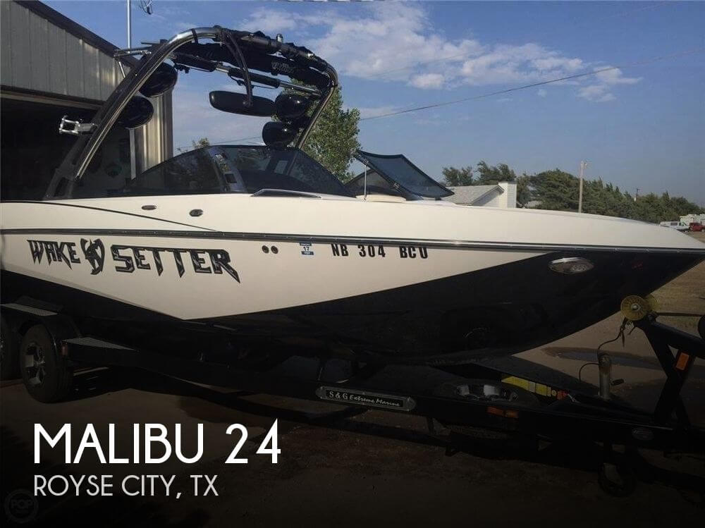 Used Boats For Sale in Tyler, Texas by owner | 2012 Malibu 24