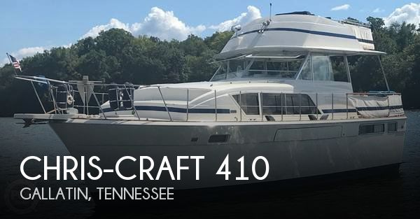 Used Chris-Craft Motoryachts For Sale by owner | 1977 Chris-Craft 41