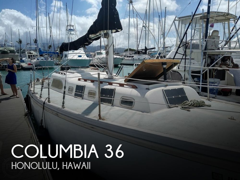 1969 Columbia boat for sale, model of the boat is 36 & Image # 1 of 40