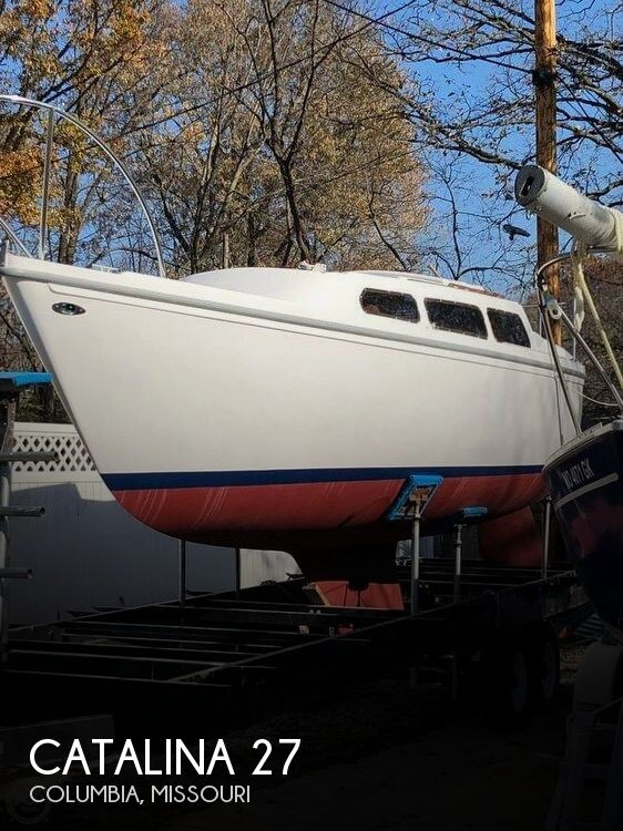 1976 Catalina Yachts boat for sale, model of the boat is 27 & Image # 1 of 9