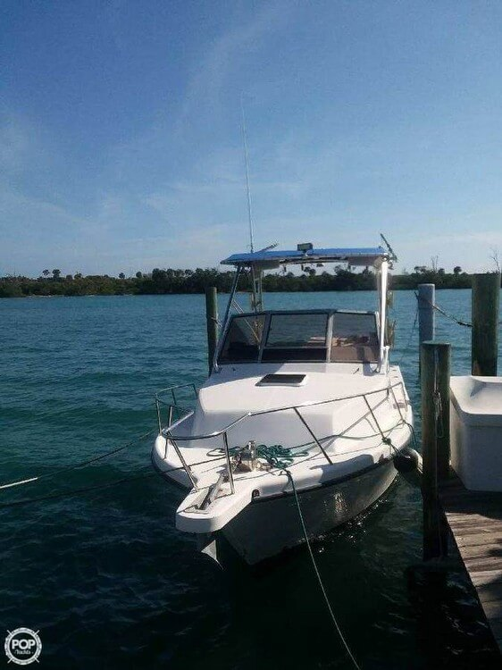 2003 Shamrock boat for sale, model of the boat is 260 Express & Image # 2 of 40
