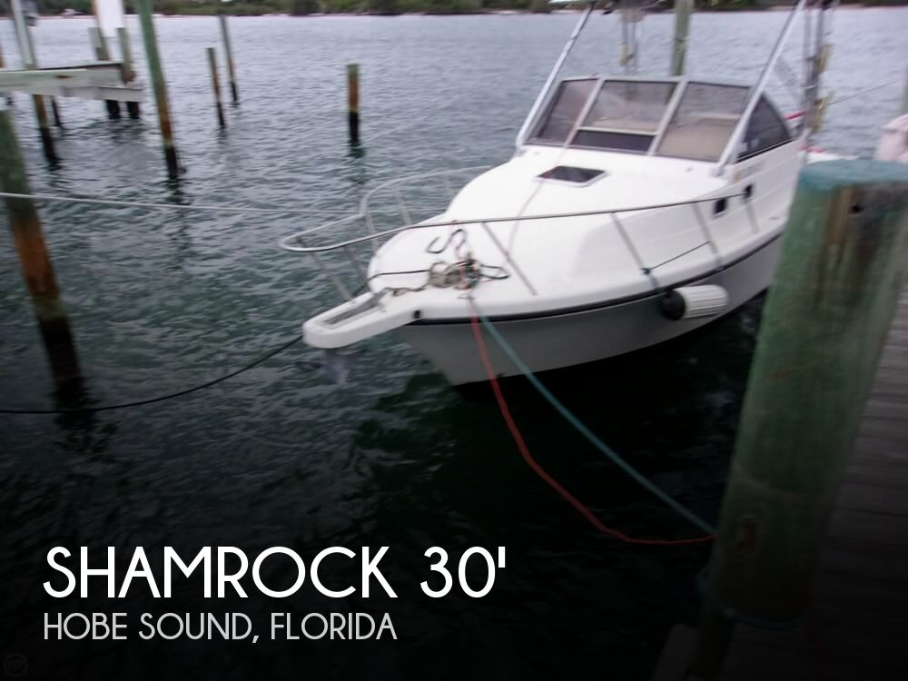2003 Shamrock boat for sale, model of the boat is 260 Express & Image # 1 of 40
