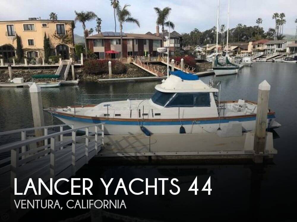 Used Boats For Sale in Santa Maria, California by owner | 1983 Lancer Yachts 44