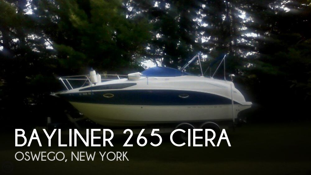 Used Bayliner Boats For Sale in Syracuse, New York by owner | 2008 Bayliner 26