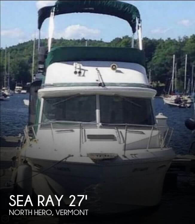 Used Motoryachts For Sale by owner | 1987 Sea Ray 27