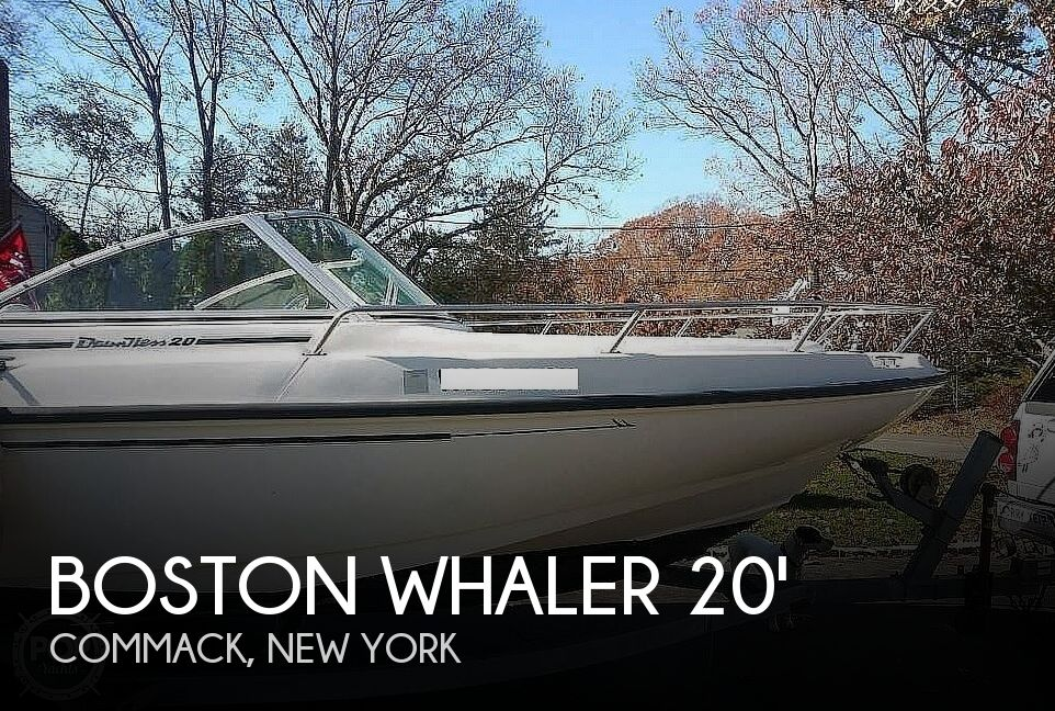 Used Boston Whaler 20 Boats For Sale by owner | 1998 Boston Whaler Dauntless 20