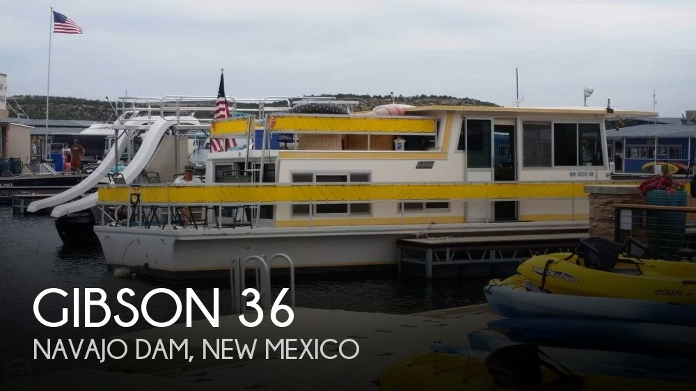 Used Houseboats For Sale in New Mexico by owner | 1972 Gibson 36