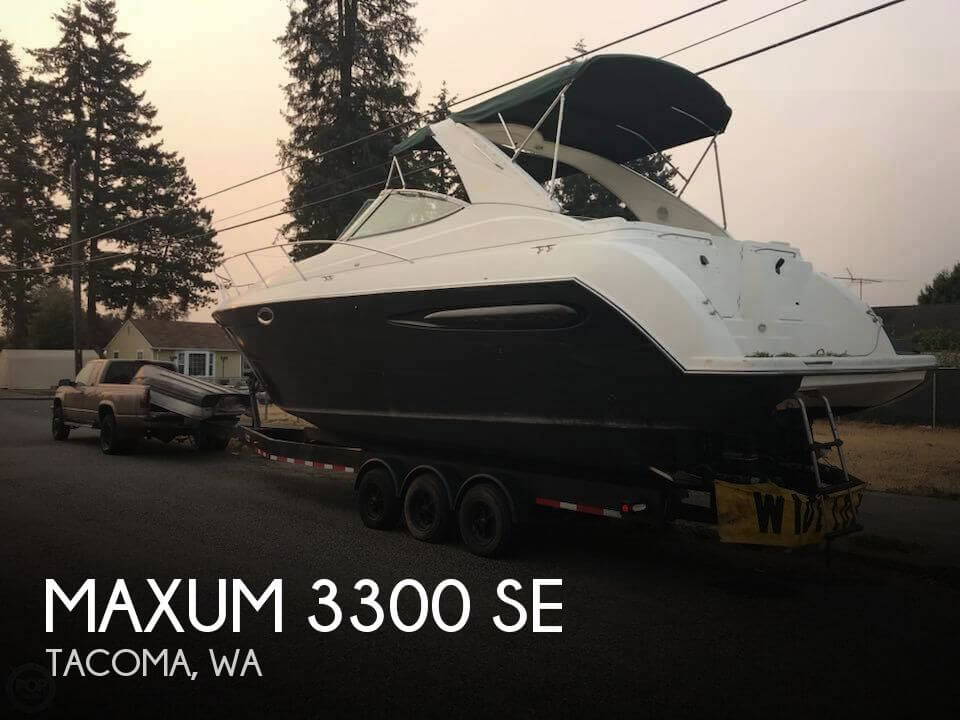 Used Maxum Boats For Sale in Washington by owner   2002 Maxum 3300 SE