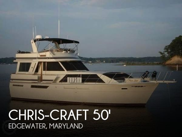 Used Chris-Craft Motoryachts For Sale by owner | 1985 Chris-Craft 50 CONSTELLATION