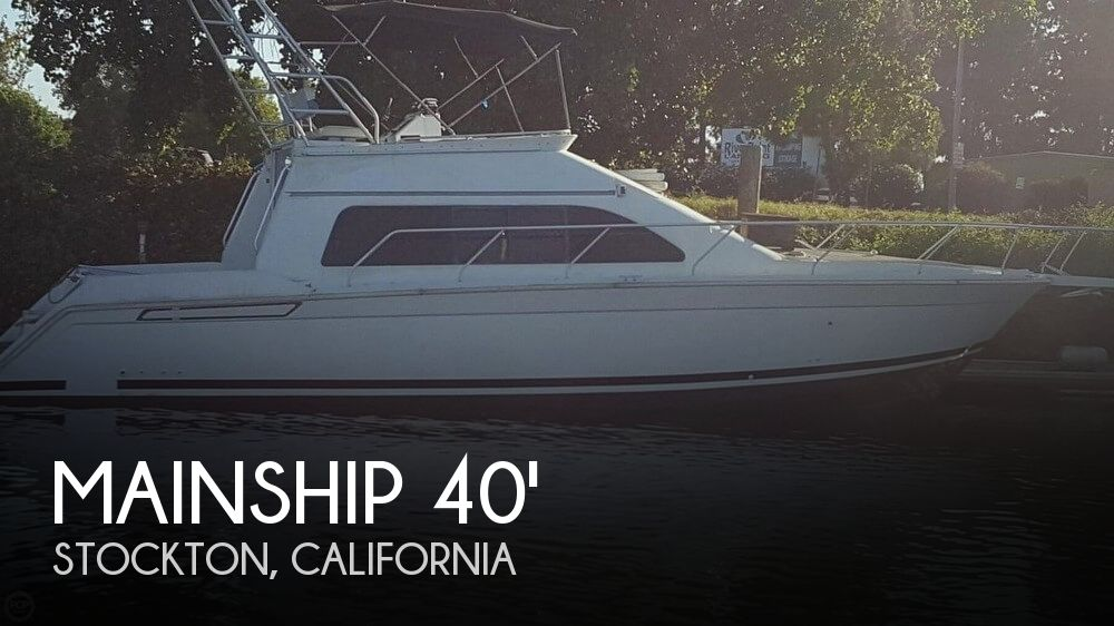 Used Boats For Sale in Merced, California by owner | 1996 Mainship 40
