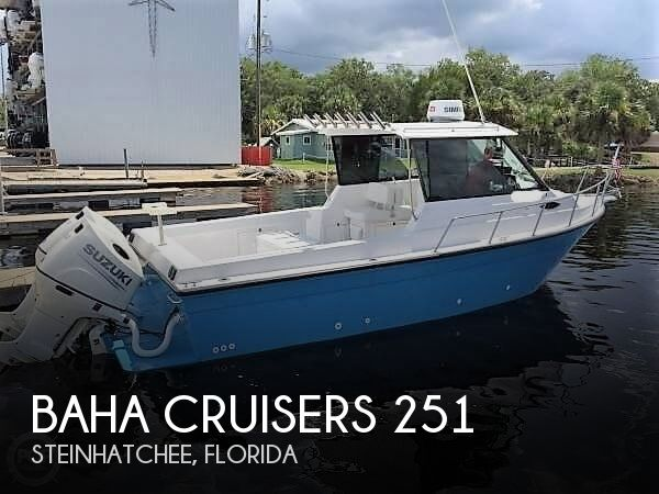Used Boats For Sale in Tallahassee, Florida by owner | 1994 Baha Cruisers 25