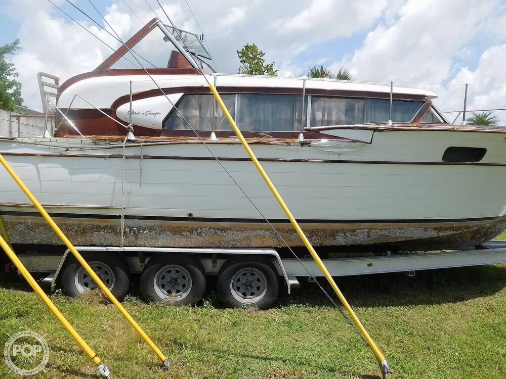 1959 Chris Craft boat for sale, model of the boat is Constellation 31 2013 Twin Yanmars & Image # 11 of 40
