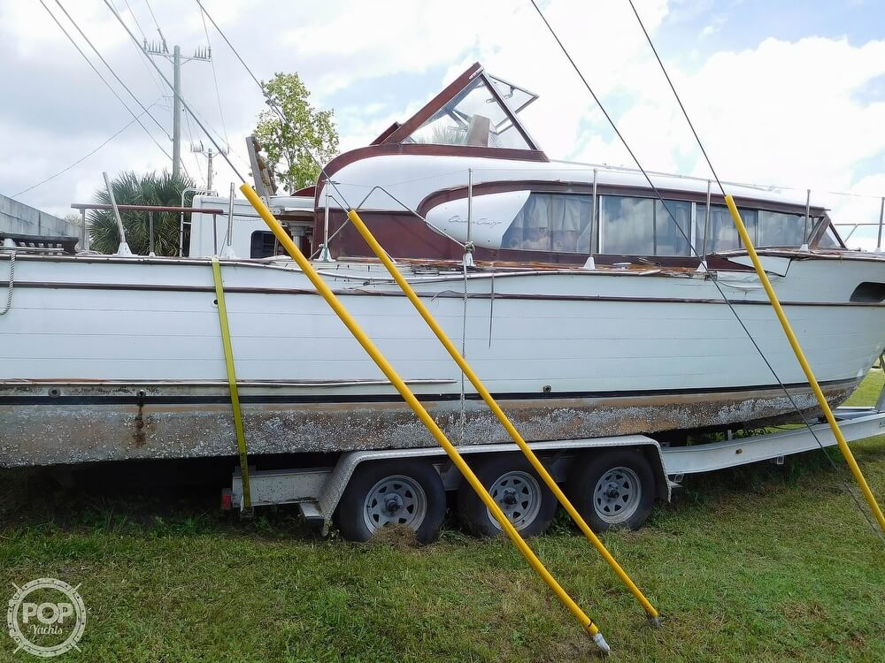 1959 Chris Craft boat for sale, model of the boat is Constellation 31 2013 Twin Yanmars & Image # 12 of 40