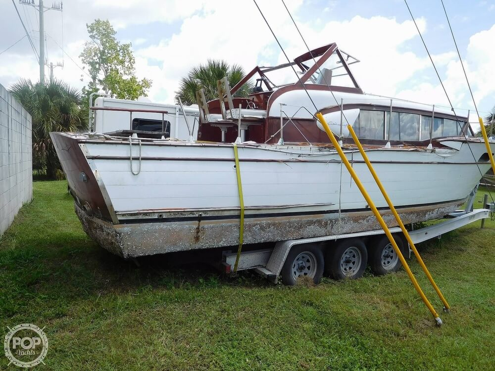 1959 Chris Craft boat for sale, model of the boat is Constellation 31 2013 Twin Yanmars & Image # 13 of 40