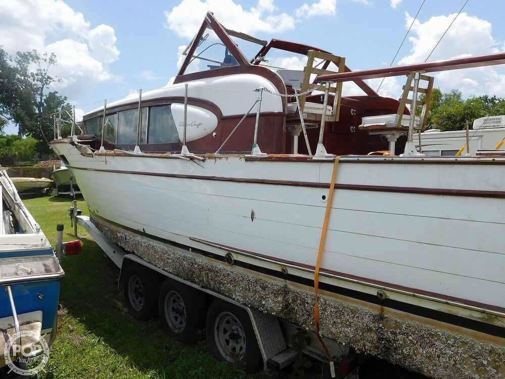1959 Chris Craft boat for sale, model of the boat is Constellation 31 2013 Twin Yanmars & Image # 19 of 40