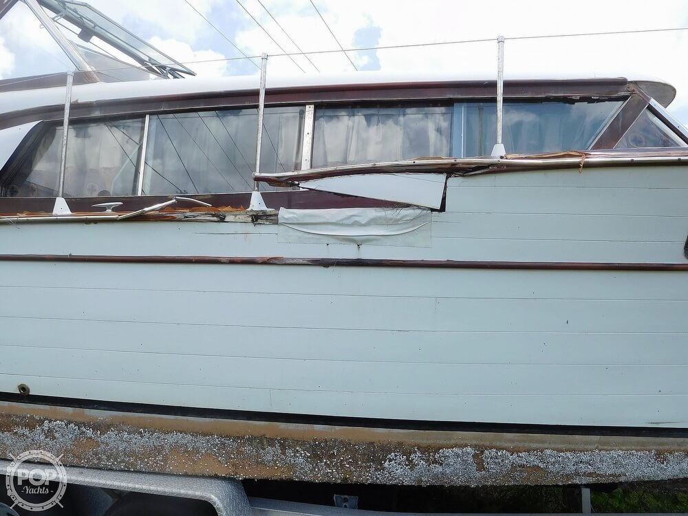 1959 Chris Craft boat for sale, model of the boat is Constellation 31 2013 Twin Yanmars & Image # 26 of 40