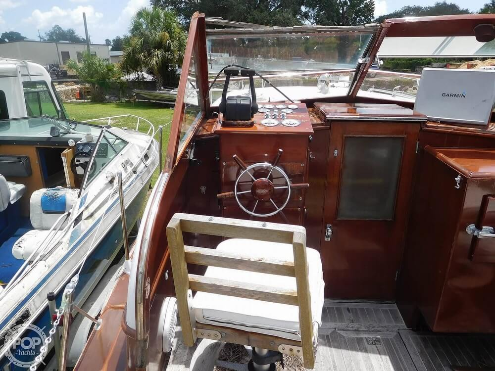 1959 Chris Craft boat for sale, model of the boat is Constellation 31 2013 Twin Yanmars & Image # 30 of 40
