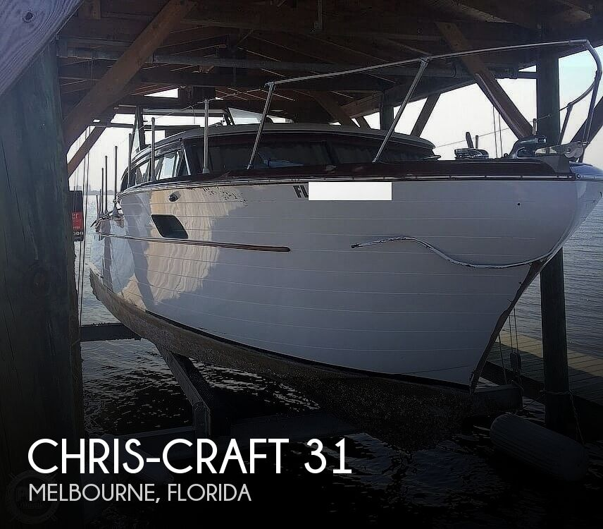 1959 Chris-Craft Constellation 31 2013 Twin Yanmars