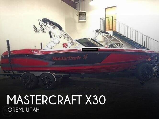 2016 Mastercraft boat for sale, model of the boat is X30 & Image # 1 of 6