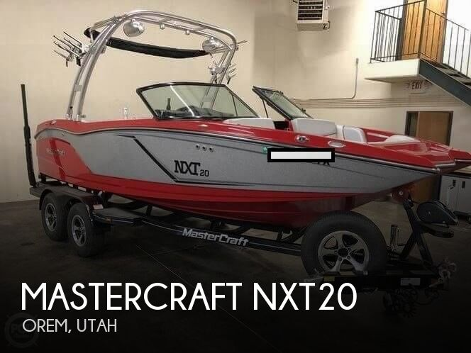 2016 Mastercraft boat for sale, model of the boat is NXT20 & Image # 1 of 6