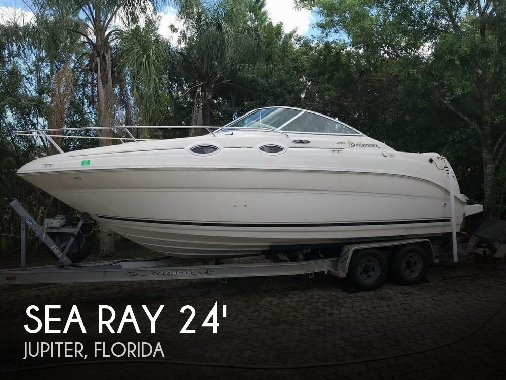 2003 Sea Ray boat for sale, model of the boat is 240 Sundancer & Image # 1 of 41