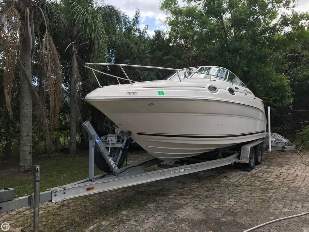 2003 Sea Ray boat for sale, model of the boat is 240 Sundancer & Image # 2 of 41