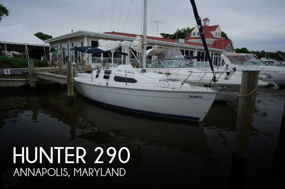 Used Hunter Sailboats For Sale in Maryland by owner | 2000 Hunter 29