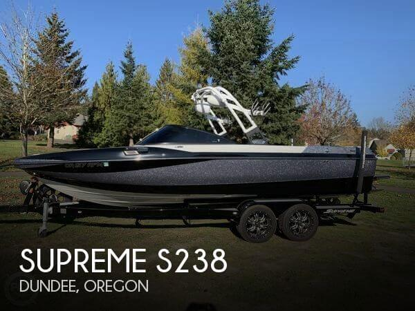 Used Boats For Sale in Portland, Oregon by owner | 2016 Supreme 23