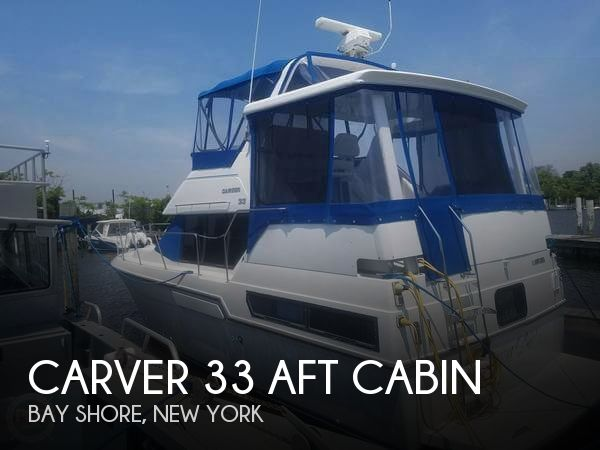 Used Carver Boats For Sale in New York by owner | 1992 Carver 33