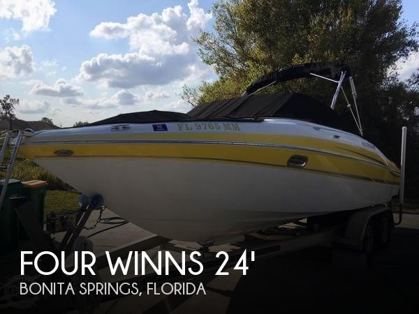 Used Four Winns Boats For Sale in Florida by owner | 2004 Four Winns 230 Horizon