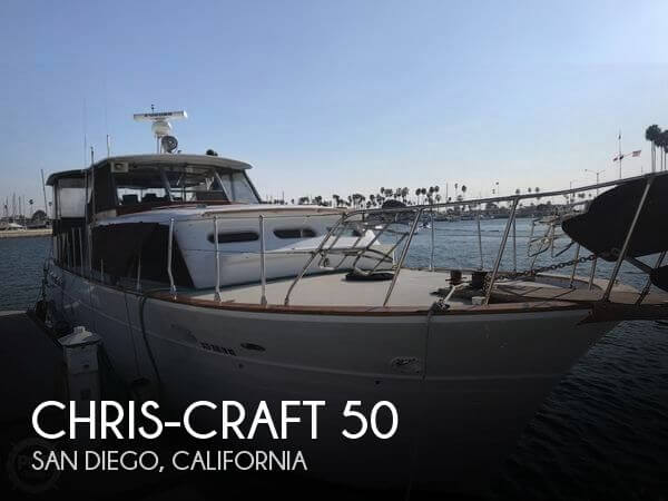 Used Chris-Craft Motoryachts For Sale in California by owner | 1962 Chris-Craft 50