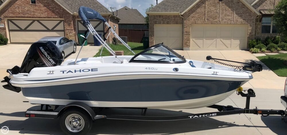 2018 Tahoe boat for sale, model of the boat is 450TF & Image # 3 of 40